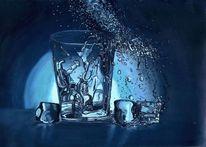 Licht, Glas, Wasser, Eis