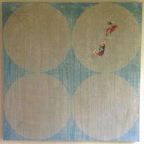 Collage mischtechnik malerei, Malerei