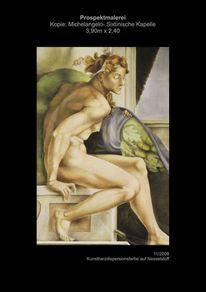 Michelangelo, Theater, Bühne, Prospekt
