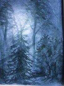 Mystik, Vollmond, Sturmschäden, Nacht