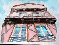 Aquarell, Bretagne
