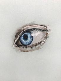 Augenzeichnen, Portraitzeichnung, Augen zeichnen, Augen