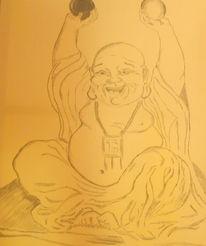 Buddha spirit, Malerei, Buddha