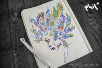 Blumen, Glücklich, Freiheit, Traurig