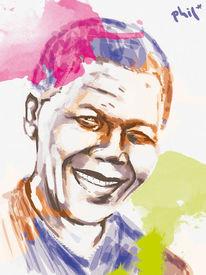 Träumerin, Politik, Freiheit, Mandela
