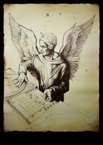 Musik, Dürer, Engel, Renaissance