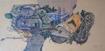 Zeichnung, Modern, Pop art, Stadt