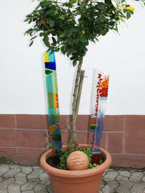 Glas, Modern, Garten, Gartenkunst