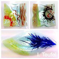 Schale, Modern, Glasschalen, Bunt
