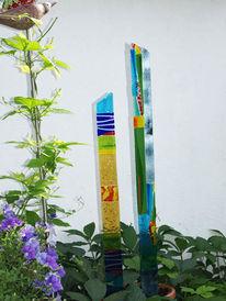 Glas, Bunt, Modern, Abstrakt
