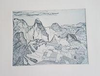 Landschaft, Natur, Machupicchu, Inka