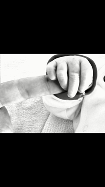 Tochter kind hand, Fotografie, Berührung