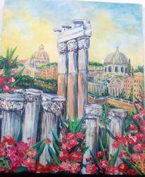 Rom stadt italien, Malerei