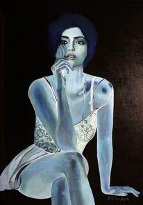 Blau, Dame, Bollywood, Sonam kapoor