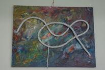 Tampen, Seele baumeln, Chaos, Malerei
