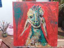 Quadrat, Acrylmalerei, Schaf, Modern