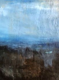 Regen, Wolken, Schwäbische alb, Malerei