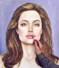 Zeichnen, Portrait zeichnen, Gemälde, Ölmalerei