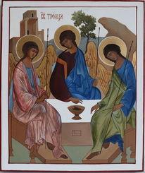 Holz, Blattgold, Orthodox, Ikonen