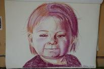 Pastellmalerei, Kind, Portrait, Zeichnungen