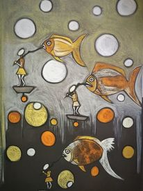 Fisch, Begegnung, Fantasie, Wortlos
