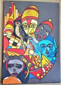 Kopf, Maske, Wortlos, Fantasie