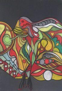 Wortlos, Fantasie, Augen, Abstrakt