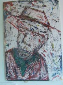 Meer, Abstrakt, Zeichnung, Rot schwarz