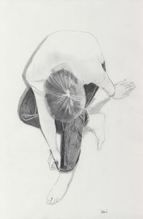 Bleistiftzeichnung, Zeichnung, Zeichnungen, Selbstportrait