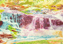 Landschaft, Lichtmalerei, Natur, Wasser