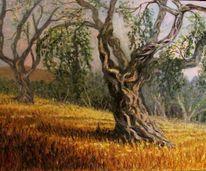 Olivenbaum, Malerei