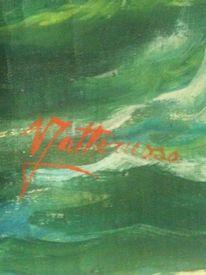 Malen, Ölmalerei, Signatur, Malerei