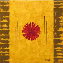Kopp, Acrylmalerei, Malerei, Abstrakt