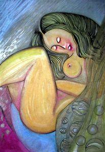 Grün, Zeichnung, Malerei, Schwarz