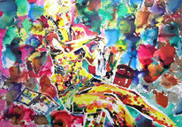 Rot, Atelier, Gelb, Farben