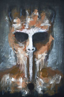 Darkart, Abstrakt, Gesicht, Wesen