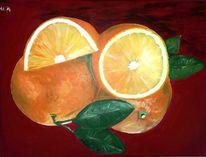 Acrylmalerei, Rot, Malerei