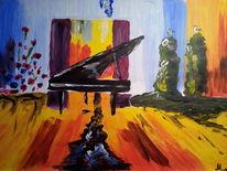 Traum, Acrylmalerei, Mystik, Surreal
