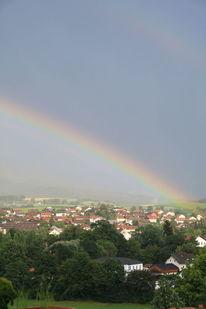 Regenbogen, Sonne, Regen, Fotografie