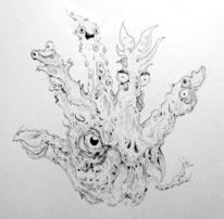 Hand, Halloween, Grusel, Horror