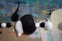 Abstrakt, Digital, Acrylmalerei, Mischtechnik