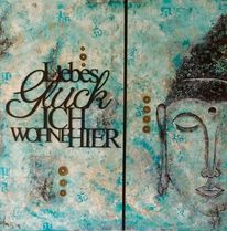 Positiv, Abstrakt, Glücksmünzen, Buddha