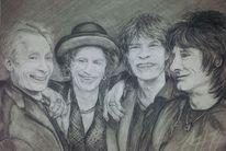 Portrait, Musiker, Rolling stones, Mann
