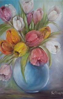 Malerei Stillleben Tulpen 303 Bilder Und Ideen Malen Auf Kunstnet