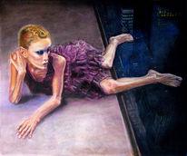 Magersucht, Fotorealismus, Rote haare, Inszenierung