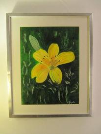 Rahmen, Pflanzen, Grün, Malerei