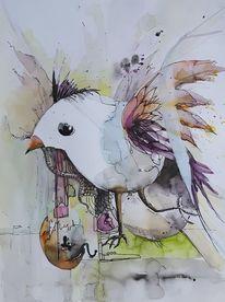Abstrakt, Vogel, Früher vogel, Eig