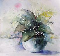 Maiglöckchen, Blumen, Blüte, Grün