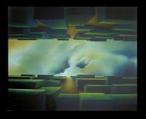 Surreal, Malerei, Ölmalerei, Canwas