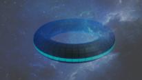 Raumschiff, Universum, Rendering, Ufo
